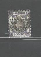 """HONG KONG 1903 PERFINS """"BCHS"""" #75 USED - Hong Kong (...-1997)"""