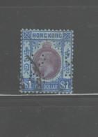 """HONG KONG 1912 1914  PERFINS """"BCHS"""" #120  USED - Hong Kong (...-1997)"""