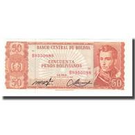 Billet, Bolivie, 50 Pesos Bolivianos, 1962, 1962-07-13, KM:162a, NEUF - Bolivien