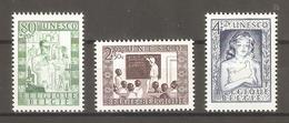 1951 Belgium. UNESCO / Set ** - Unused Stamps