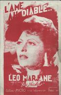 """""""L'âme Au Diable"""" - Léo Marjane Dans Le Film """"feu Nicolas"""" - - Musik & Instrumente"""