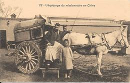 "Procure Des Missions - Bulletin ""CHINE-CEYLAN-MADAGASCAR"" - L'Equipage Du Missionnaire En Chine - Misiones"
