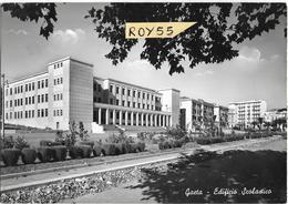 Lazio-latina-gaeta Scuola Veduta Edificio Scolastico Gaeta Anni 50 - Italy