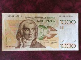 Banconota Da 1000 Franchi - [ 2] 1831-... : Belgian Kingdom
