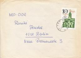 POLEN / POLAND  -  KRAKOW  -  1986 ,  Rathaus In Krakau   -   Brief Nach Berlin - Machine Stamps (ATM)