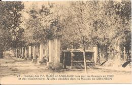 """Procure Des Missions - Bulletin """"CHINE-CEYLAN-MADAGASCAR"""" - Tombes Des P.P. ISORE Et ANDLAUER Tués Par ................. - Misiones"""