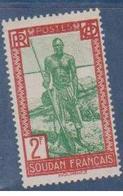 SOUDAN     N°  YVERT  :  84    NEUF AVEC  CHARNIERES      ( Ch  3 / 17 ) - Sudan (1894-1902)