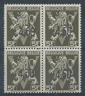 724FF **  En Carré   Cote 100.00 - 1946 -10%