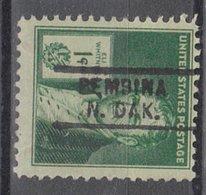USA Precancel Vorausentwertung Preo, Locals North Dakota, Pembina 729 - Vereinigte Staaten