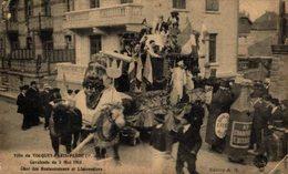 TOUQUET PARIS PLAGE Cavalcade De 5 Mai 1913,char Des Restaurateurs.   Francia//France - Frankreich