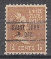 USA Precancel Vorausentwertung Preo, Locals North Dakota, Saint John 734 - Vereinigte Staaten