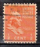 USA Precancel Vorausentwertung Preo, Locals North Dakota, Tappen 729 - Vereinigte Staaten