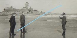 Photox4 DUNKERQUE Malo Les Bains 1940 Marine Française Contre Torpilleur L'Adroit Epaves Bassins - Guerre, Militaire