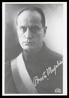 Benito Mussolini (Giovane - Firma: Stampata) - Personaggi