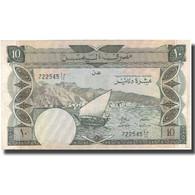 Billet, Yemen Democratic Republic, 10 Dinars, UNDATED (1984), KM:9b, TTB - Yemen