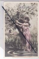 Thermidor - était Le 11ém Mois Du Calendrier Républicain. Jeune Femme Tenue Légère Avec Enfant (ceuillant  Du Gui..) - Other