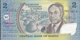 ILES   SAMOA   -  2  Tala   Nd(1990)   -- UNC  --   Polymer - Samoa