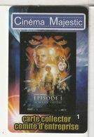 CINÉCARTE - CARTE CINÉMA - MAJESTIC - Meaux - Collector N°1 - Movie Cards