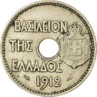 Monnaie, Grèce, George I, 20 Lepta, 1912, TTB, Nickel, KM:64 - Greece