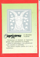 ASTROLOGIE Capricorne Cp Edit Gendre * Format 15 Cm X 10.5 Cm - Astrology