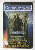 CINÉCARTE - CARTE CINÉMA - MAJESTIC - Meaux - Collector N°3 - Movie Cards