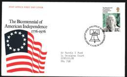Great Britain FDC 1976 American Independence    (NB**LAR9-92) - Unabhängigkeit USA