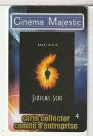CINÉCARTE - CARTE CINÉMA - MAJESTIC - Meaux - Collector N°4 - Movie Cards