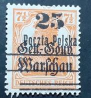 Pologne > ....-1919 Gouvernement Provisoire > Oblitérés N° 12 - ....-1919 Übergangsregierung