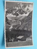 Pension Du GLACIER ( Prop. Melle Marie THEUX ) LA FOULY - VAL FERRET (8917) Anno 1948 > Klosters ( See / Voir Photo ) ! - VS Valais