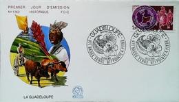 ANTILLES - FDC - 1984 (Oblitération Pointe à Pitre) GUADELOUPE Basse-Terre - Enveloppe Premier Jour - Antillen