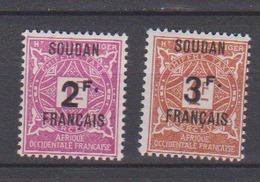 SOUDAN     N°  YVERT  : TAXE 9/10  NEUF AVEC  CHARNIERES      ( Ch  3 / 18 ) - Soudan (1894-1902)