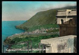 MALFA (EOLIE) PANORAMA E PUNTA CAPO MALFA 1964 - Messina
