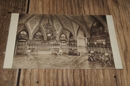 13052           KASTEEL VAN GAESBEEK BIJ BRUSSEL  BRUXELLES, RIDDERZAAL - Lennik