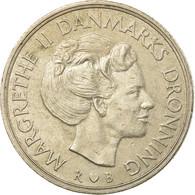 Monnaie, Danemark, Margrethe II, Krone, 1988, Copenhagen, TTB, Copper-nickel - Denmark