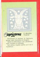 ASTROLOGIE Capricorne Cp Edit Combier * Format 15 Cm X 10.5 Cm - Astrology
