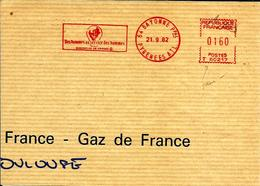 Lettre   EMA  Havas 1982 Les Hommes Au Service Edf  Electricite Energie Metier 64 Bayonne C28/36 - EMA (Printer Machine)