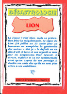 ASTROLOGIE DESASTROLOGIE LION Edit Floriscope * Format 15 Cm X 10.5 Cm - Astrology