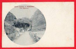 [DC6067] CPA - GRAN SASSO DI REMENNO - VAL MASINO - PERFETTA - Non Viaggiata - Old Postcard - Sondrio