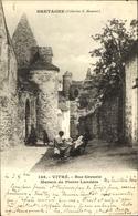 Cp Vitré Ille-et-Vilaine, Vue Greurie, Maison De Pierre Landais - Sonstige Gemeinden