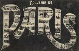 SOUVENIR DE PARIS  Multivues RV - Francia