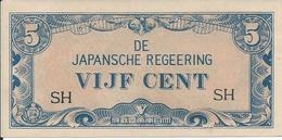 Indes Néerlandaises   -   5 Cents  Nd    -- UNC --   Nederlands India - Indonesia