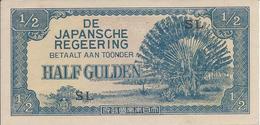 Indes Néerlandaises   -   1/2 Gulden  Nd   -- UNC --   Nederlands India - Indonesia