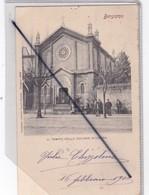 Italie -Bergamo : Il Tempio Della Colonia Svizzera (carte Précurseur De 1902) - Bergamo