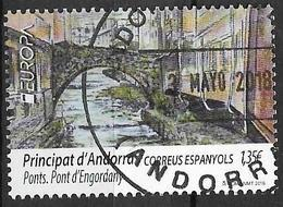 2018 Andorra ES MI. 465  FD-used Europa : Brücken . - 2018