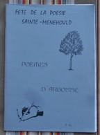 51 SAINTE MENEHOULD Fete De La Poesie ARGONNE Illustrations - Champagne - Ardenne