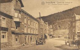 Trois-Ponts - Centre Du Village Vu De L'Avenue Joseph Lejeune - Circulé - Etat: Voir 2 Scans. - Trois-Ponts