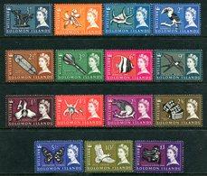 British Solomon Islands 1965 QEII Pictorials Set MNH (SG 112-126) - Iles Salomon (...-1978)