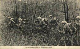 Schieichpatrouille Im Argonnerwald 1914/15 WWI WWICOLLECTION - Guerre 1914-18
