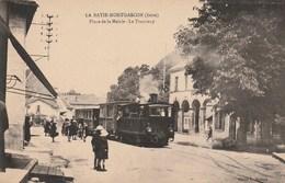 LA BATIE MONTGASCON (Isère) - Place De La Mairie Le Tramway (Vue Animée) - France