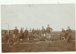 Militairen - Kamp Van Beverloo- Fotokaart ( 2 Scans) - Leopoldsburg (Beverloo Camp)